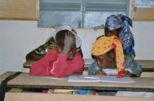 Our education project in Niger