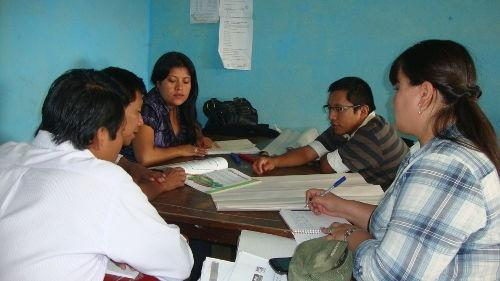 Teacher training in Guatemala