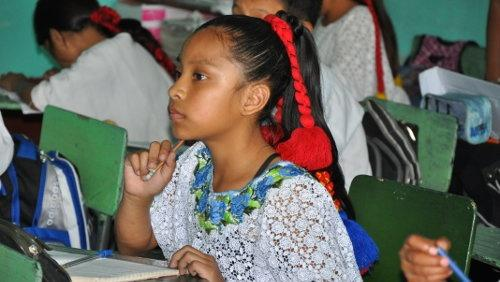Education project in Guatemala