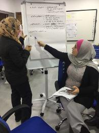 Training for health care providers in Jordan