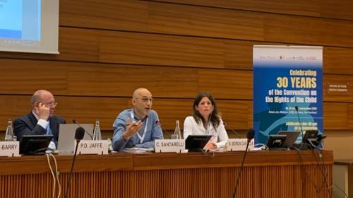 Conférence d'Enfants du Monde sur les droits de l'enfant à Genève