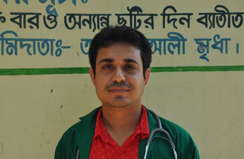 testimony of doctor in Bangladesh