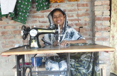 Selina Akther, young seamstress, Bangladesh