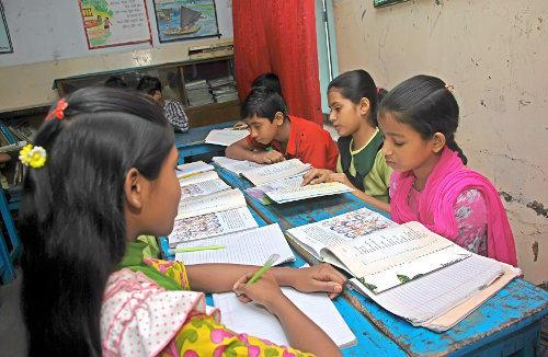 Our education project in Bangladesh