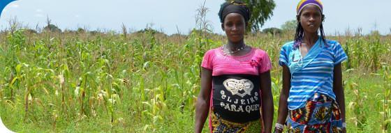 Nous aidons les femmes enceintes au Burkina Faso