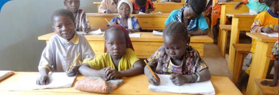 Au Tchad, Enfants du Monde améliore l'éducation des enfants, jeunes et adultes.