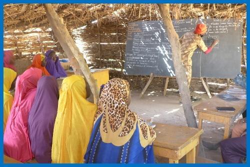 Education de qualité dans une école au Niger